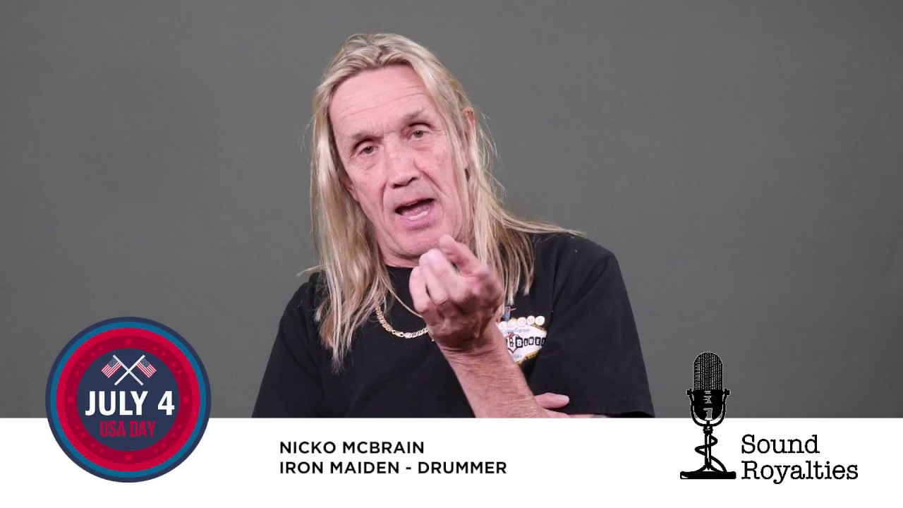 A History Lesson with Nicko McBrain of Iron Maiden