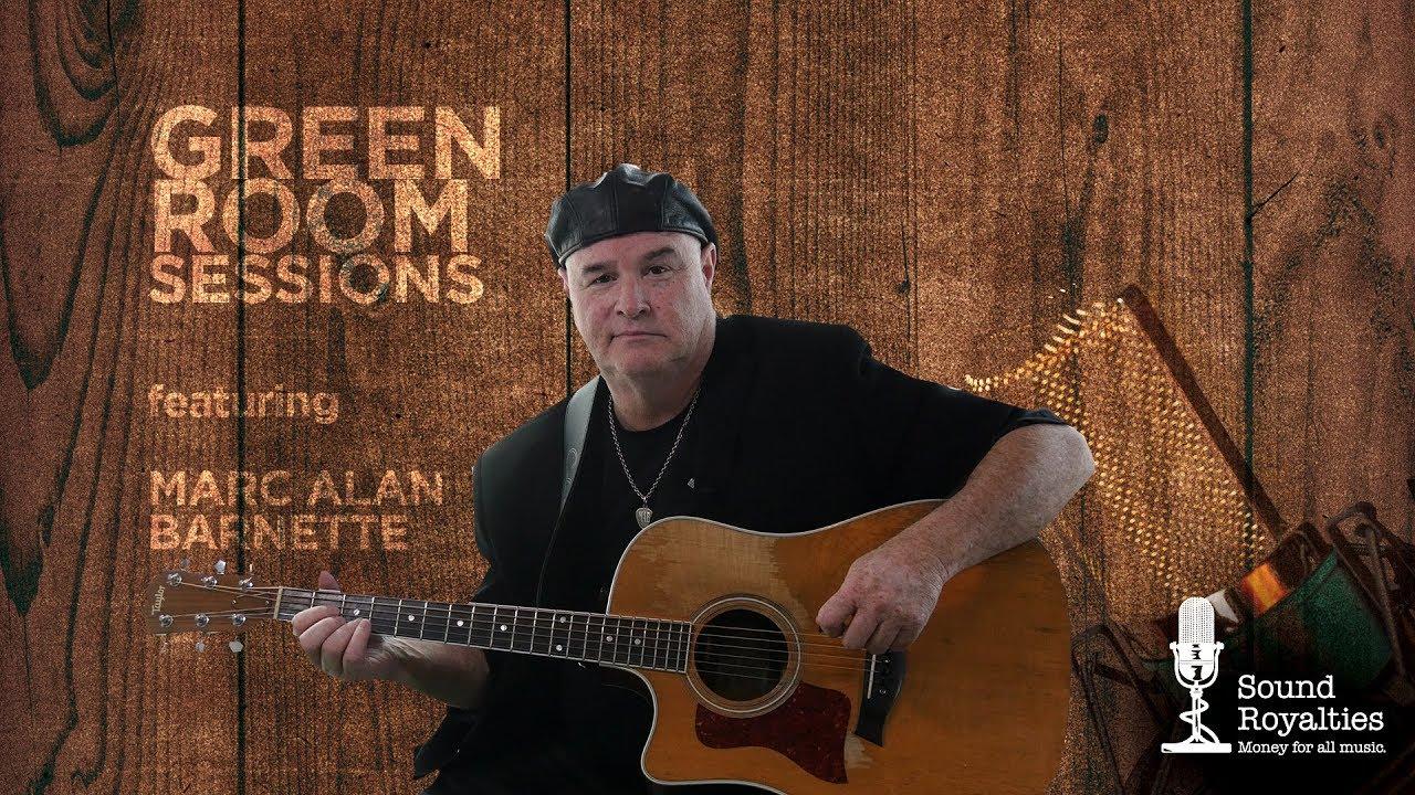 Green Room Sessions <br/> Marc-Alan Barnette