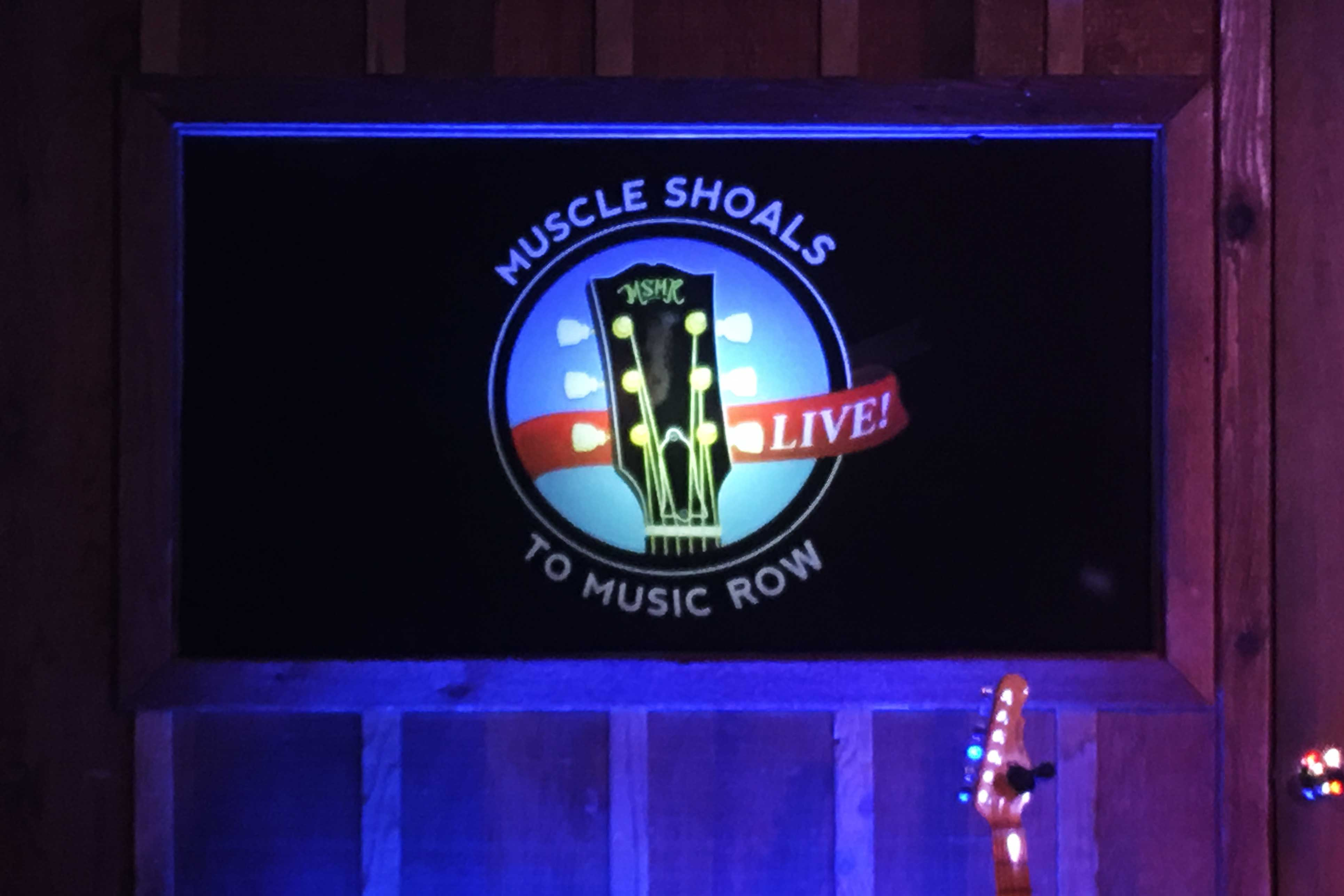 Muscle Shoals to Music Row LIVE Logo