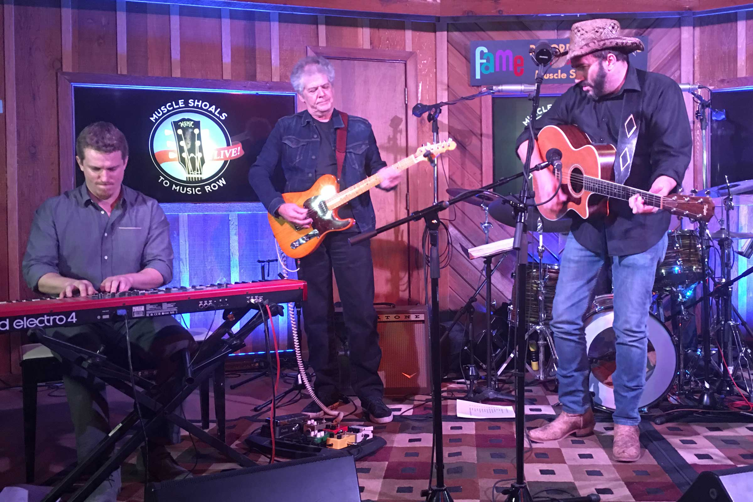 Muscle Shoals to Music Row LIVE Band with James LeBlanc