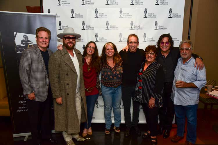 ASCAP Board Members, Desmond Child, Alex Heiche, Rudy Perez, Gina Franano and Ed Schwartz