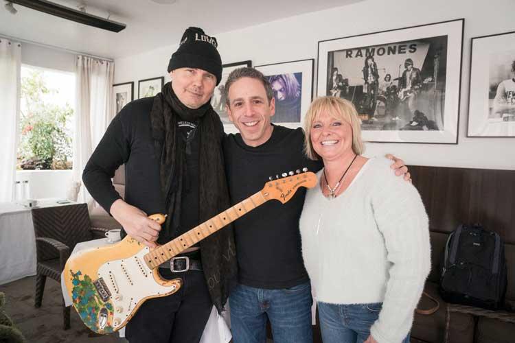 Alex Heiche Sound Royalties Reunites The Smashing Pumpkins' Billy Corgan with Long-Lost Guitar