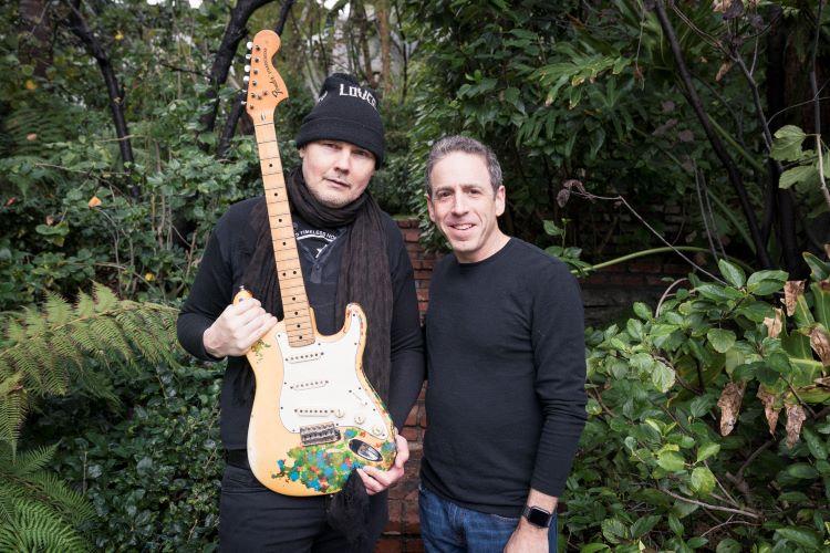 Sound Royalties Reunites The Smashing Pumpkins' Billy Corgan with Long-Lost Guitar