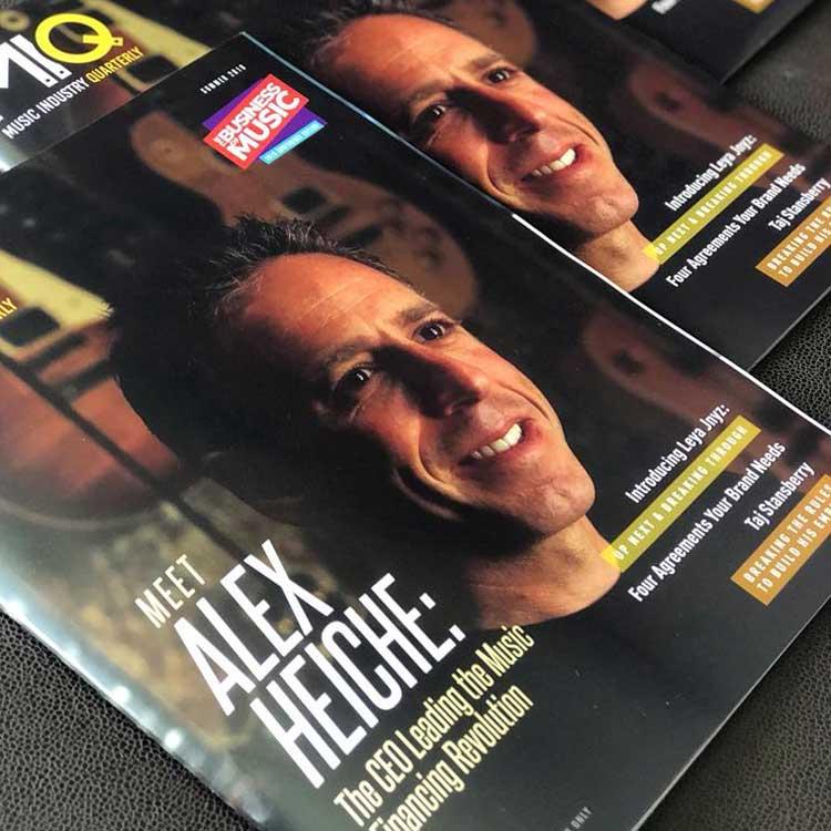 Alex Heiche Cover of MIQ